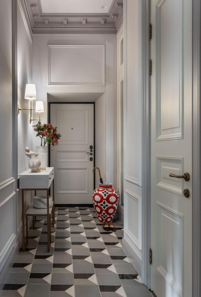 Узкая прихожая: примеры оформления в российских квартирах в 2020 г | Проектирование интерьеров, Интерьер, Дизайн