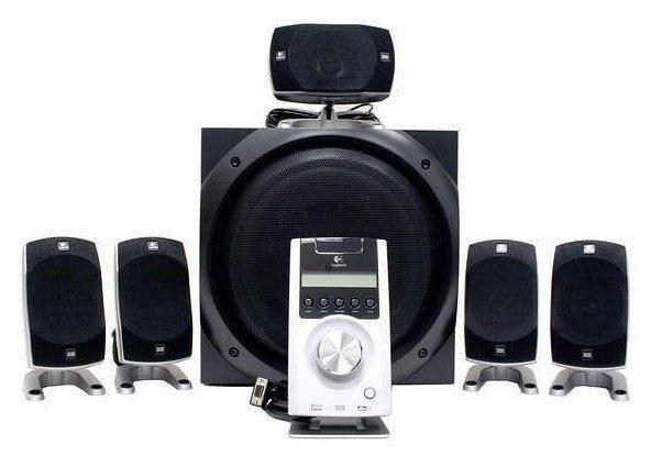Logitech Z-100 THX-Certified 100.10 Digital Surround Sound Speaker
