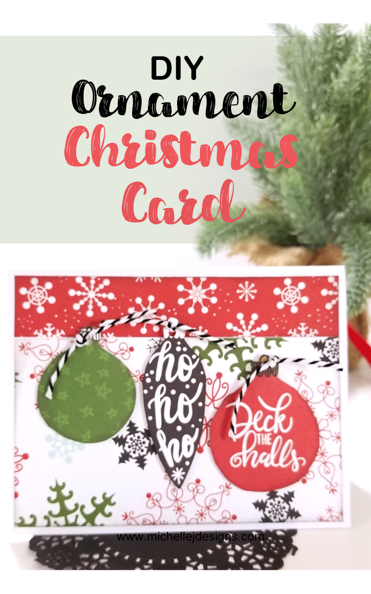 DIY Ornament Christmas Card | Best of Christmas! Decorating - Crafts ...