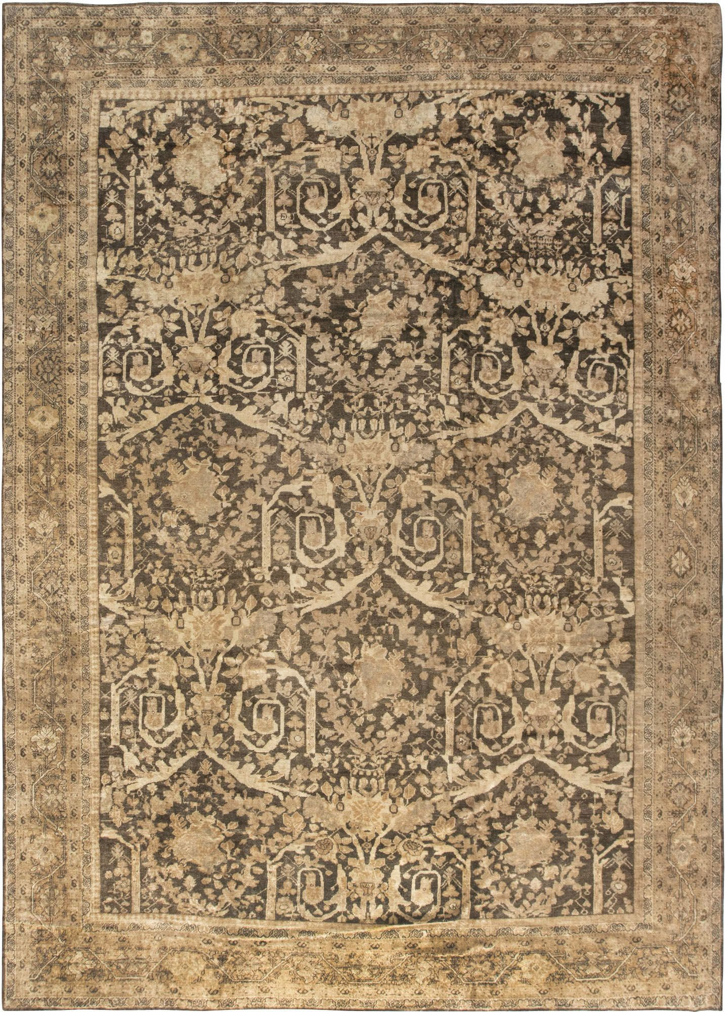 Antique Persian Sultanabad Carpet In 2020 Carpet