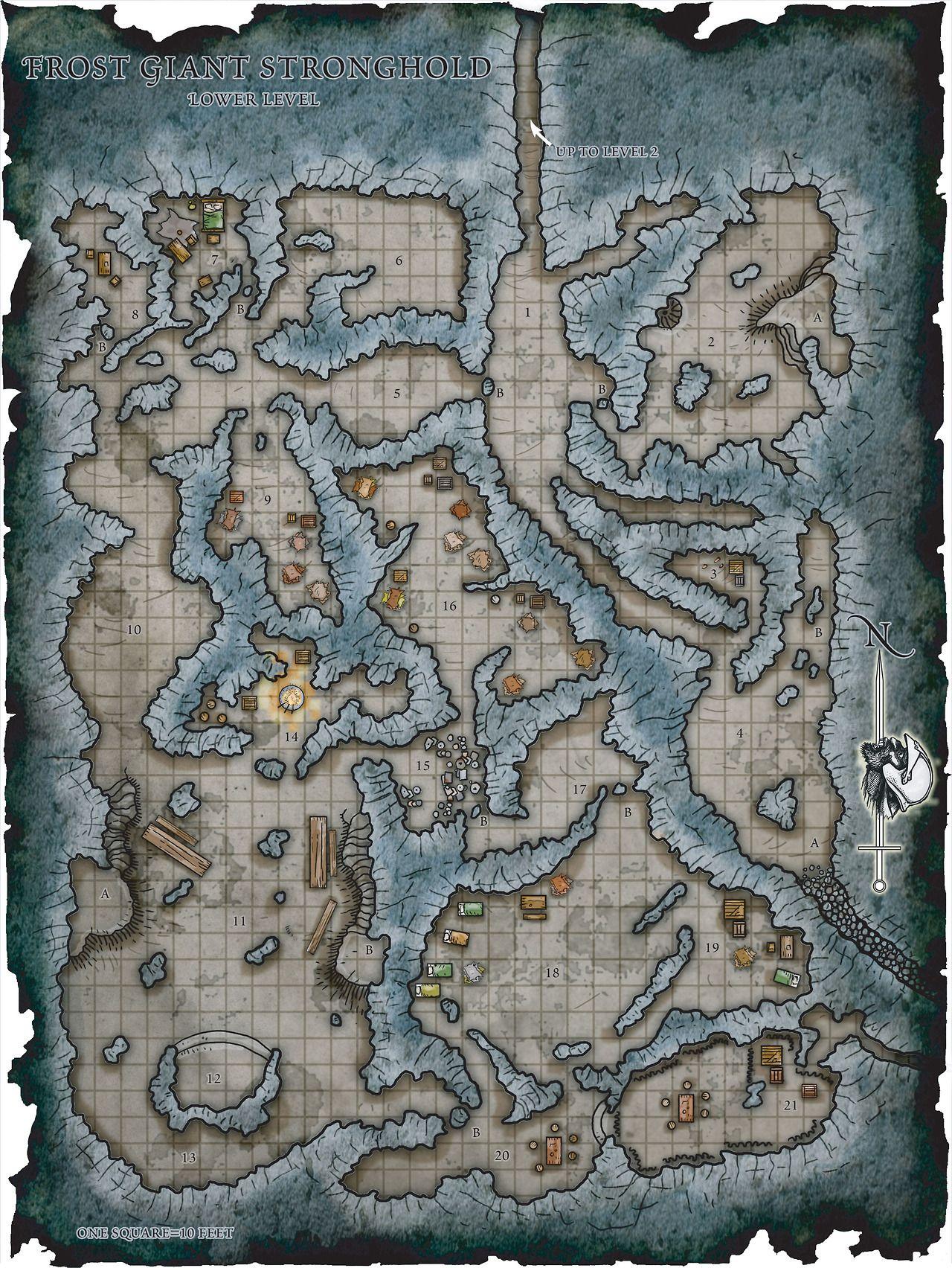 How To Get The Giant Bonus Map : giant, bonus, Glenn, Wallace, Fantasy, Dungeon, Maps,, Tabletop