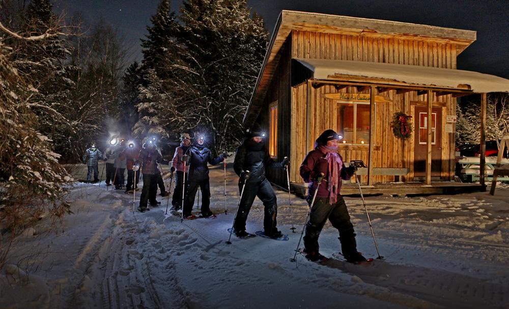 Lac Lyster Baldwin Ski de Fond de Soirée in 2020 Outdoor
