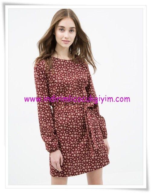 Koton Cicek Desenli Mini Elbise 30 Tl Mini Elbise Elbise Moda Stilleri