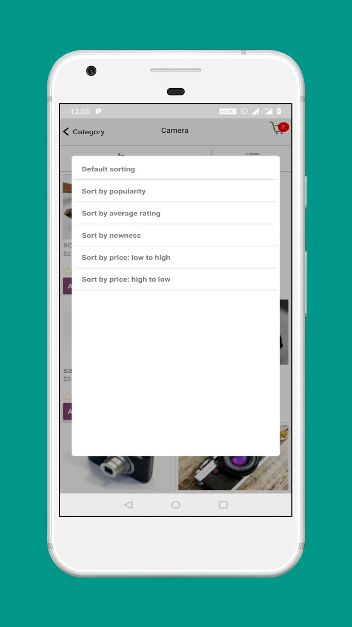 Multi Vendor Mobile App (iOS) for WooCommerce | Galaxy wallpaper