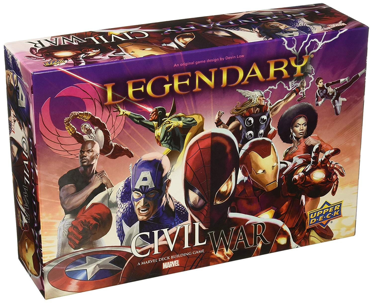 Upper Deck Legendary Civil War Board Game * Want to know