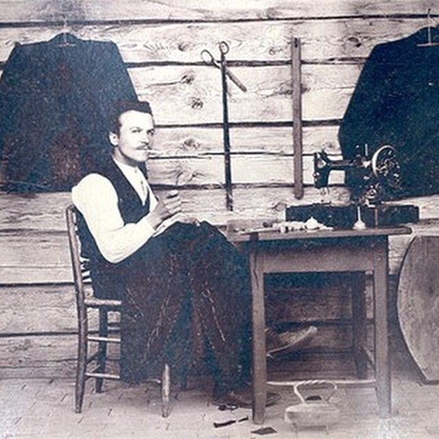 Old West tailor.