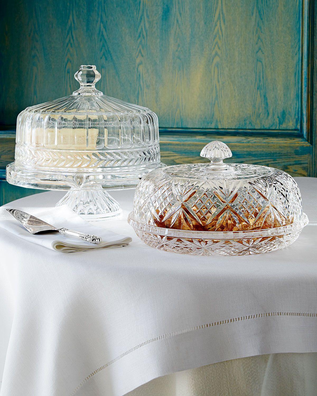 Godinger dublin crystal pie dome in 2020 crystal cake