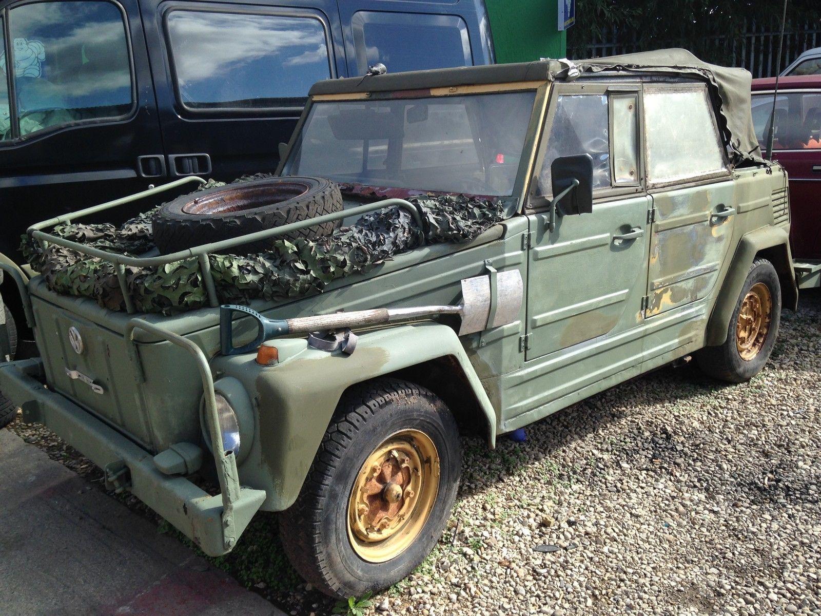 volkswagen 181 thing trekker military army car no splitscreen classic beetle volkswagen. Black Bedroom Furniture Sets. Home Design Ideas
