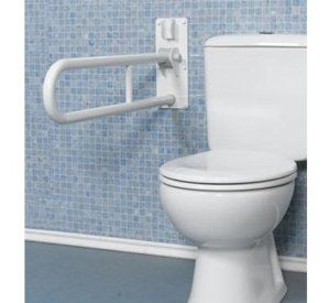 Fold Up Double Support Grab Bar 1 1 4 Inch Dia X 30 1 8 Inch L
