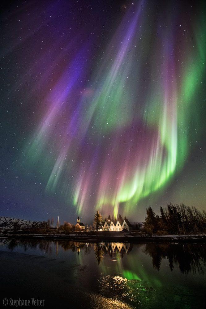 """Night of the Geomagnetic Storm"" by Stephane Vetter (TWAN)"
