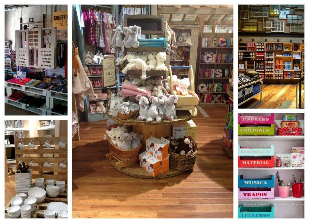 Palets tienda reciclaje decoracion pinterest palets - Muebles para centros comerciales ...