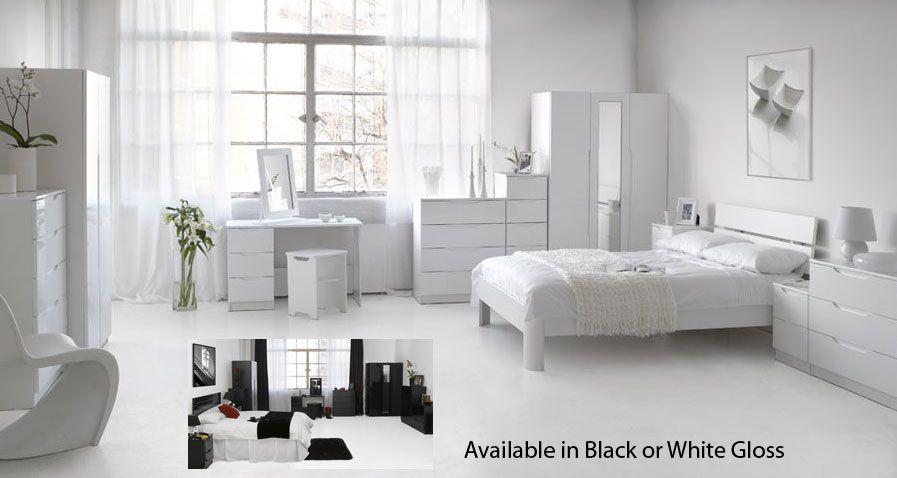 Alpine And Orient Gloss Bedroom Furniture | Orient Gloss Bedroom ...