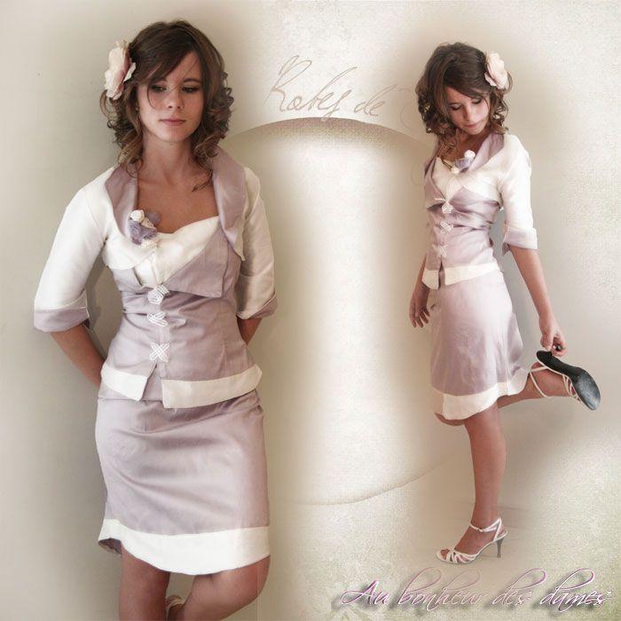robe de soirée  créatrice :Magali René-Boisneuf