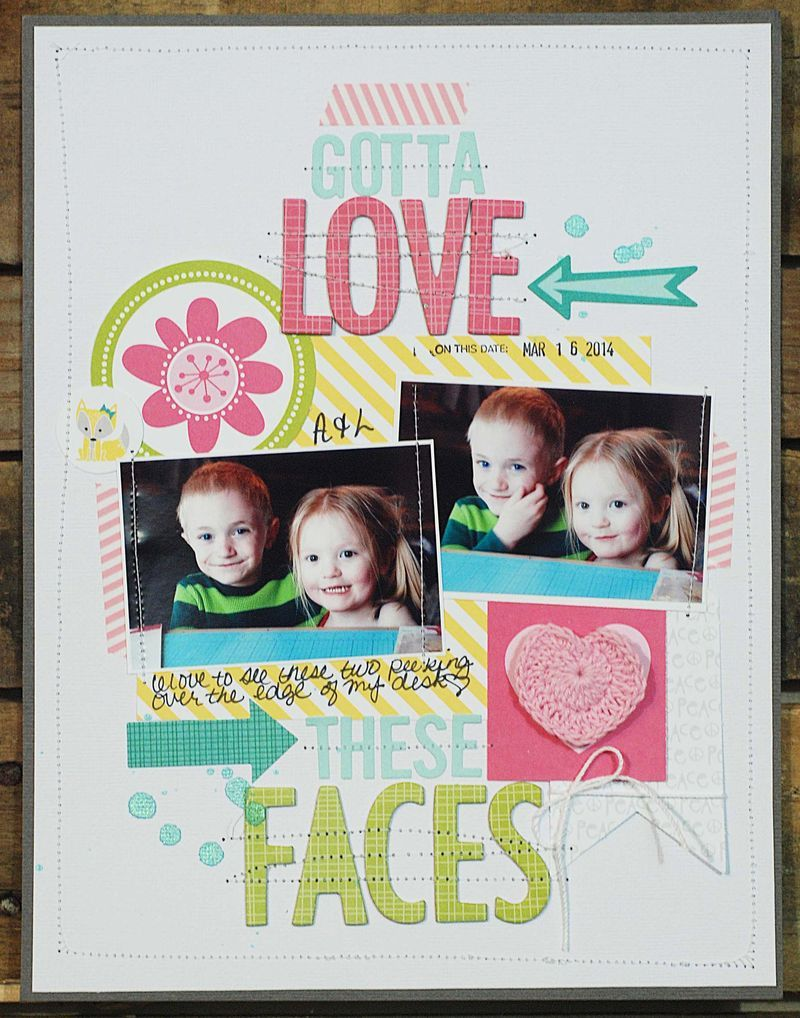 Cute page Becki Adams_Gotta Love these Faces