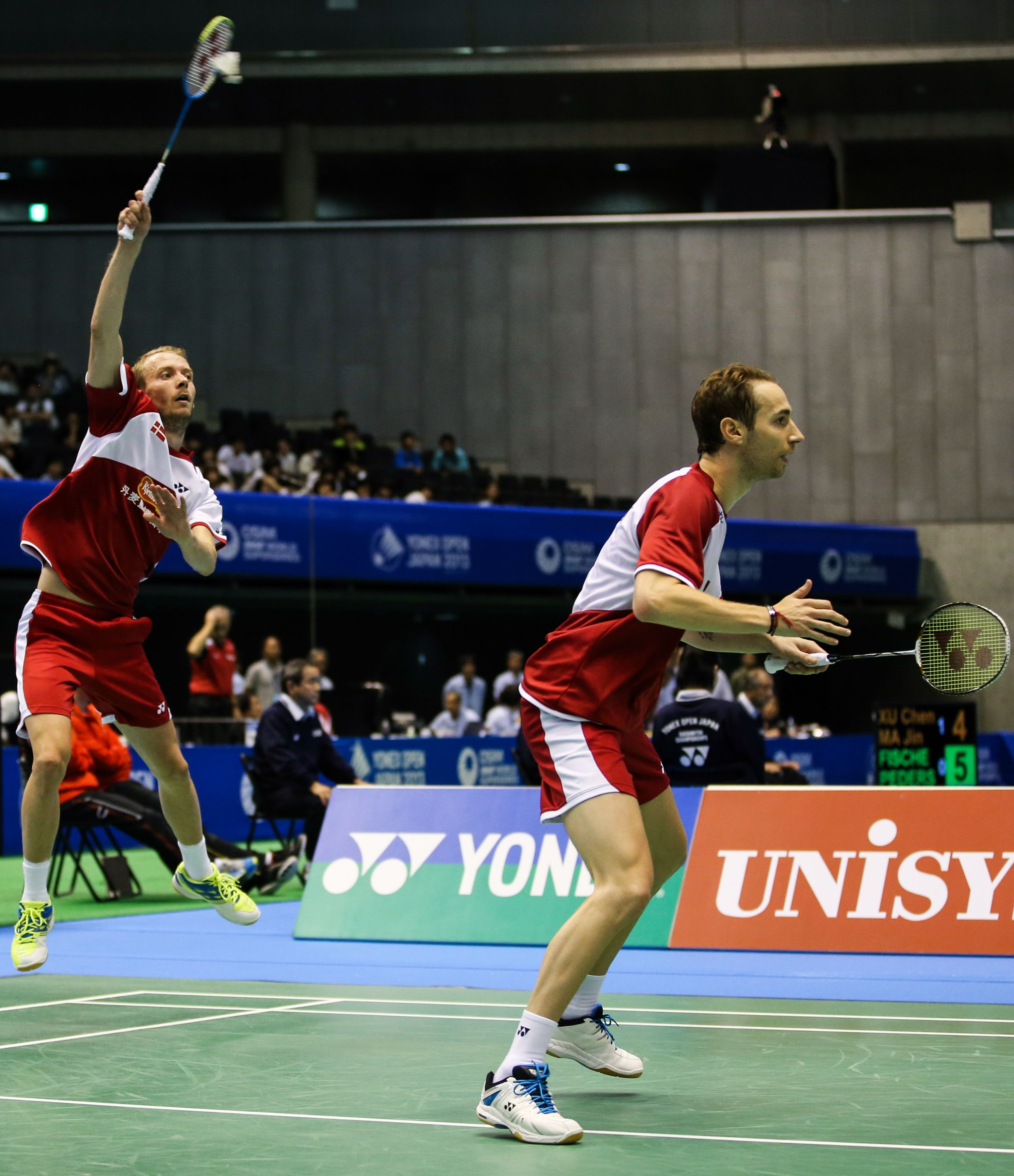 Doubles Players Mathias Boe VOLTRIC 80 & Carsten Mogensen