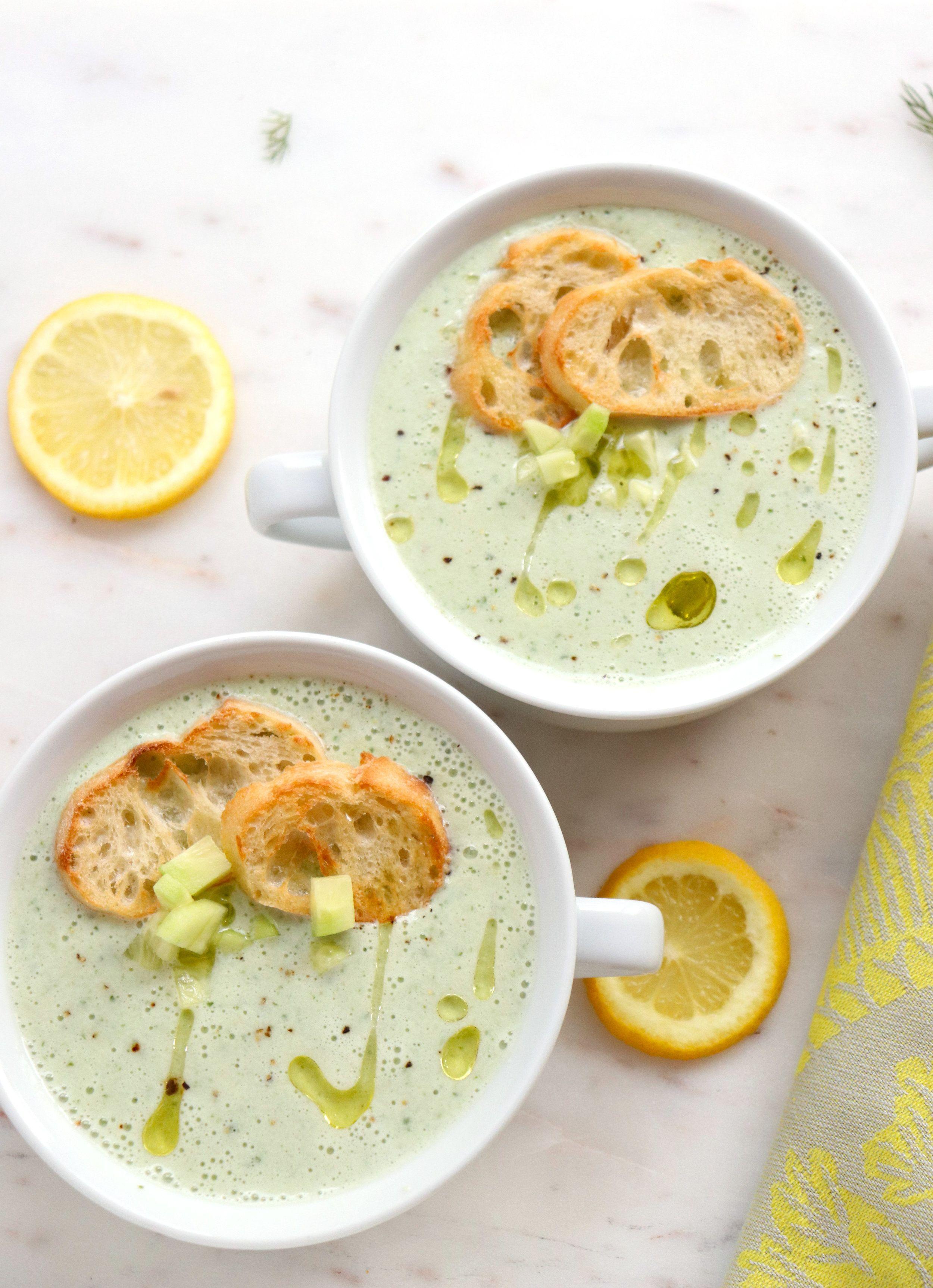 Chilled Cucumber Buttermilk Soup Healthy Soup Recipes Soup