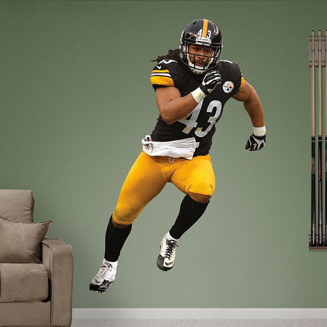 Pittsburgh Steelers Fathead Wall Decals u0026 More | Shop NFL Fathead & DIY Wall Decals | Size: 4u00270