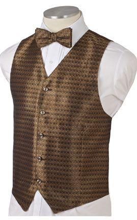 Men's bronze tuxedo jacket