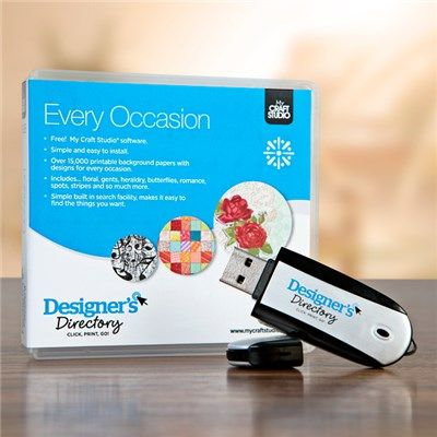 Designers Directory USB - Every Occasion (346809) | Create and Craft