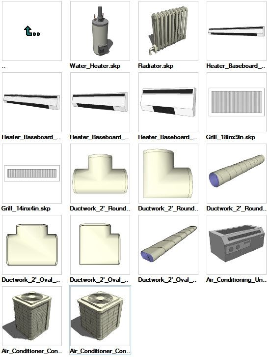 sketchup hvac 3d models download – cad design | free cad blocks,drawings ,details