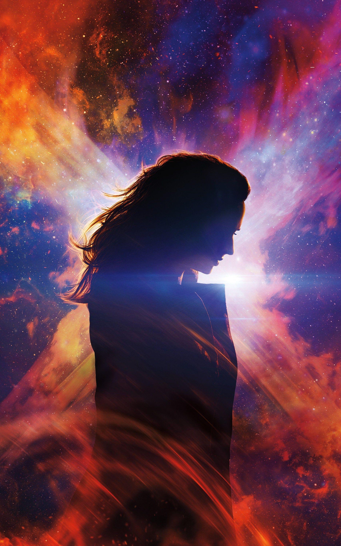 Dark Phoenix 2019 Jean Gray Charles Xavier Raven Magneto X-MEN Movie Poster Wall Art Home Decor Print