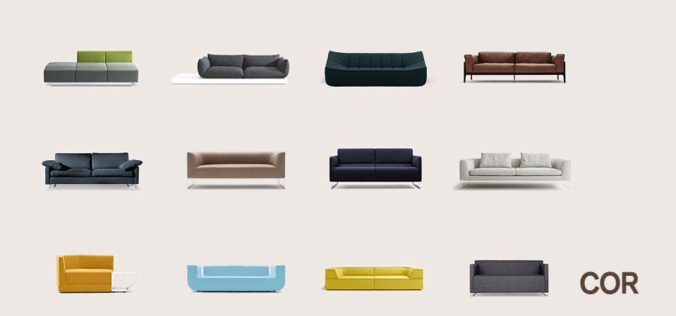 COR Sofas Polstermöbel Sitzmöbel | Sofa und Sitzmöbel | Pinterest ...
