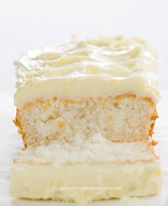 1,1,1,1 Cake ~ 4 Ingredients  (www.4ingredients.com.au)