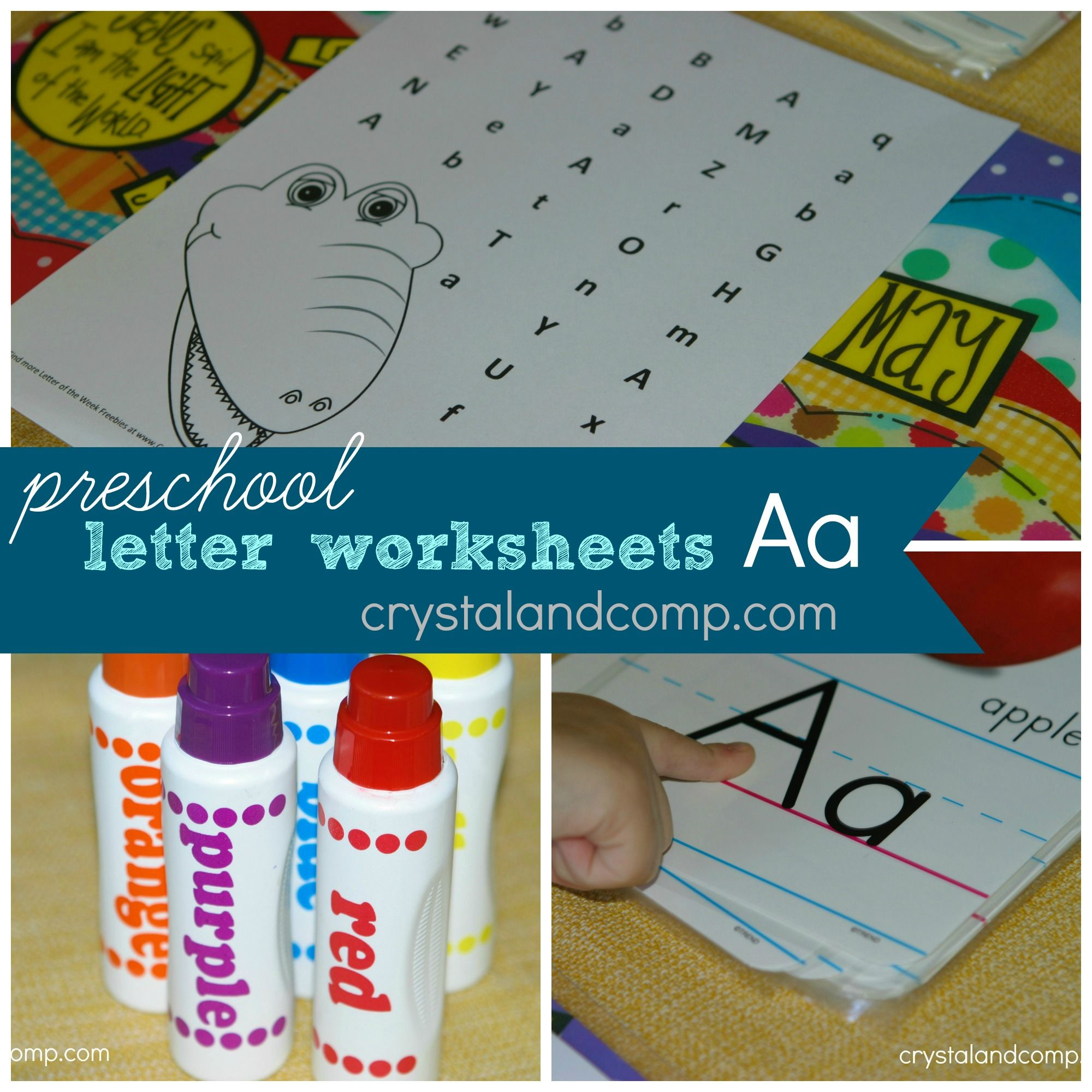 preschool letter worksheets letter A do a dot printable | Free ...