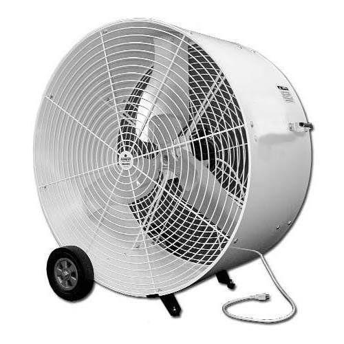 Schaefer Versa Kool 36 2 Speed Mobile Spot Cooler Fan Tent Fan Air Cooler Fan Garage Door Insulation
