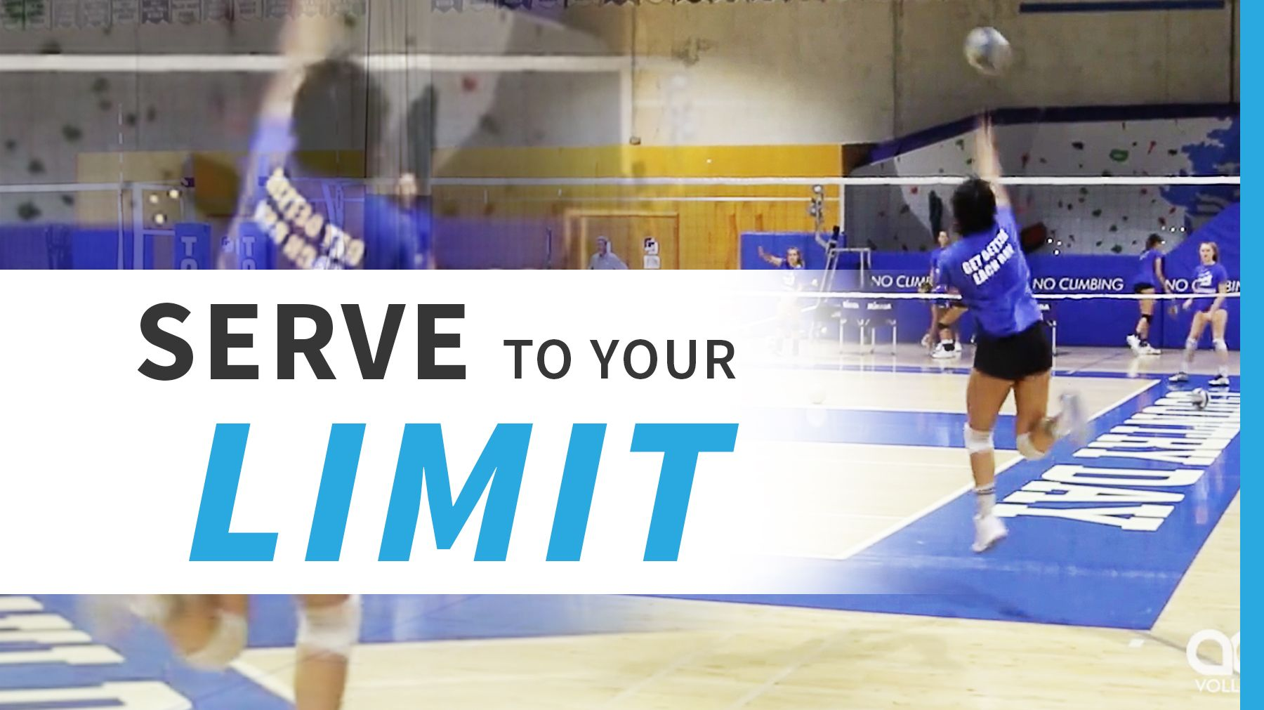 Serve To Your Limit With Images Coaching Volleyball Volleyball School Coach