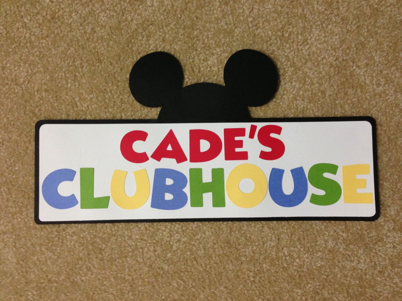 best 20 mickey mouse bedroom ideas on pinterest mickey mouse mickey mouse clubhouse personalized sign
