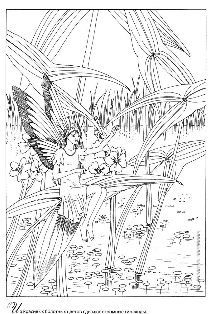 19.jpg 706×1,008 pixels Fairy coloring pages, Horse