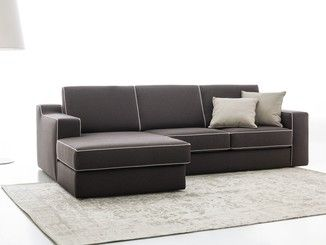 Recliner 3 Seater Fabric Sofa With Chaise Longue Jonas