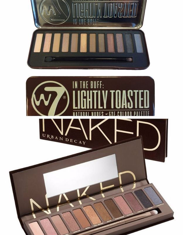 W7 In The Buff Lightly Toasted Versus UD Naked 1 | Budget-Friendly Urban Decay Eyeshadow Dupes You Should Try