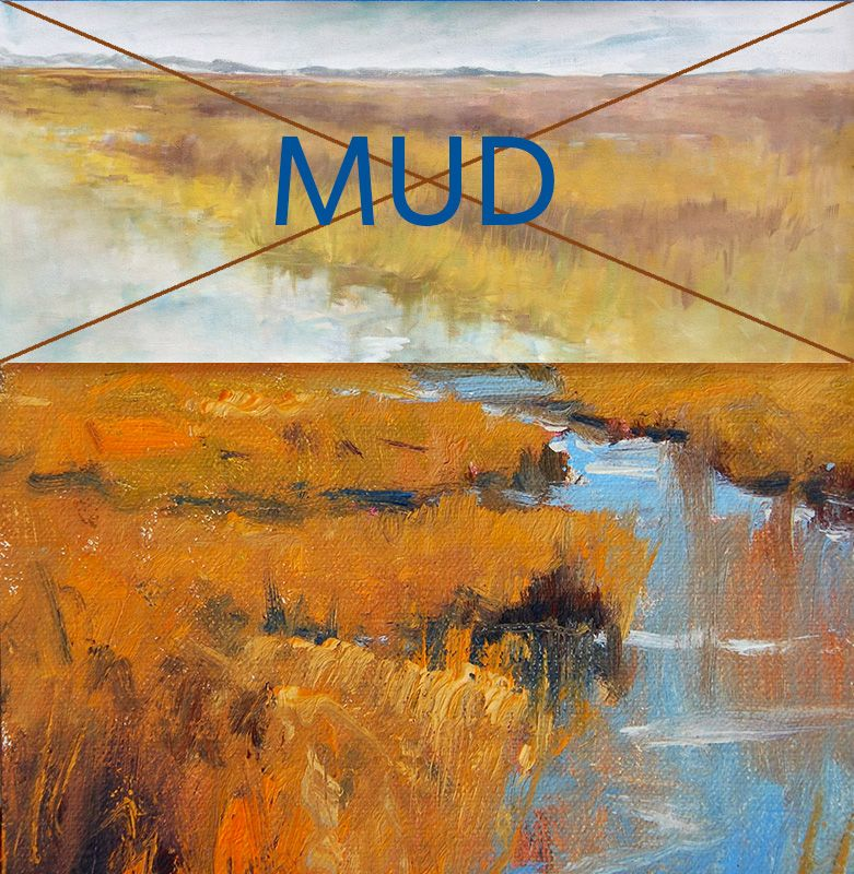 10 Things That Cause Mud in a Painting.   Oil painting tutorials ...