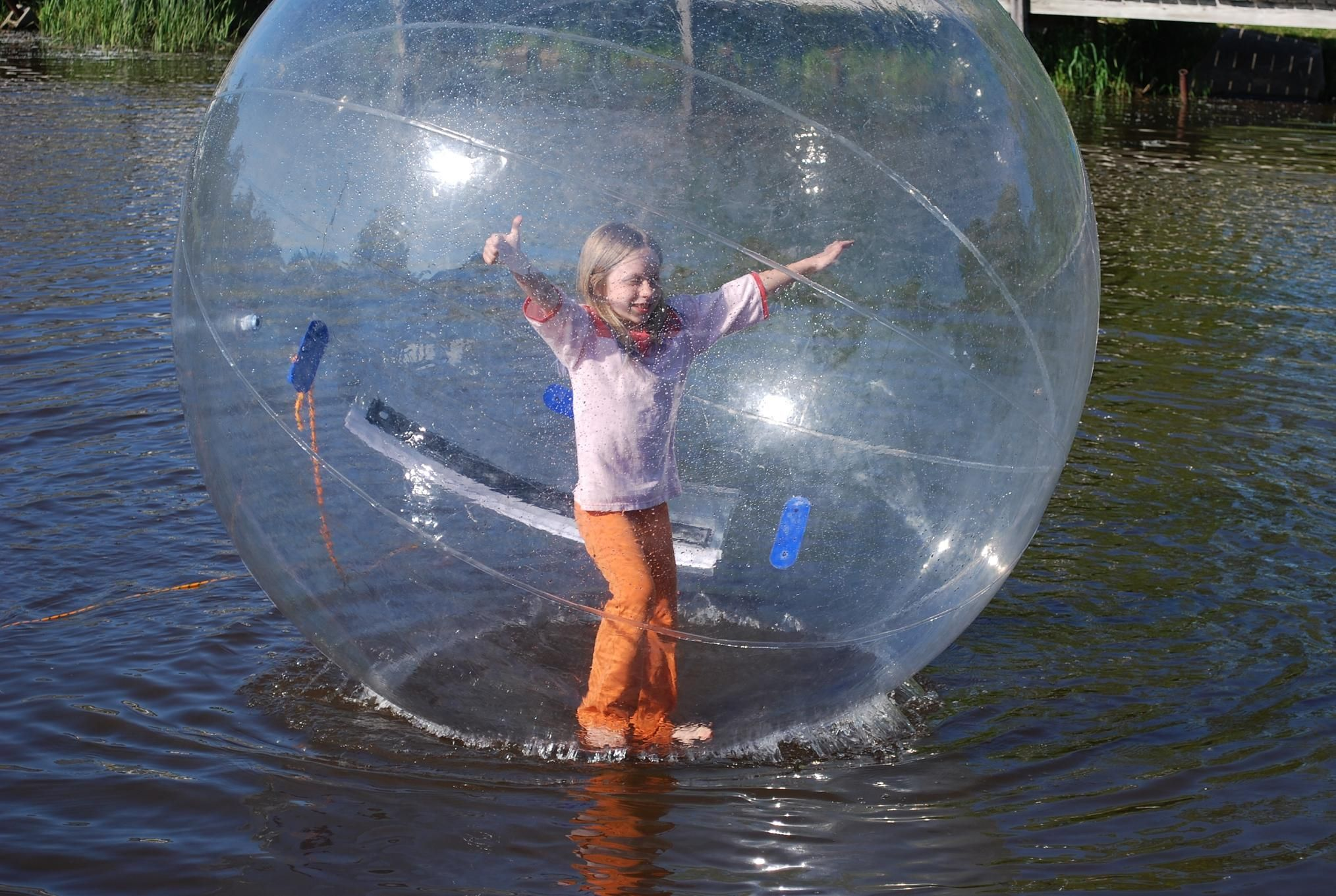 Human Sized Hamster Ball Water Fun Inflatable Water