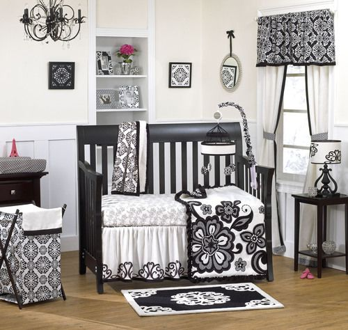 Elsa Nursery Bedding 4pc Set Cocalo Couture Crib Baby Design Trendy Boutique Registry
