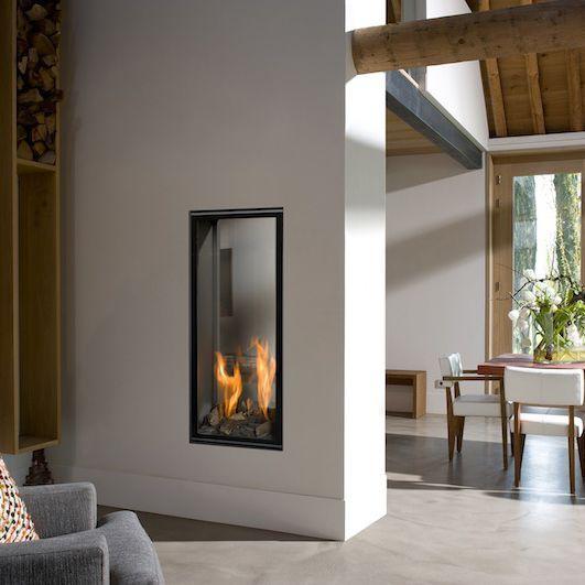 chemin e gaz contemporaine foyer ferm encastrer vertical bell 3 bellfires. Black Bedroom Furniture Sets. Home Design Ideas