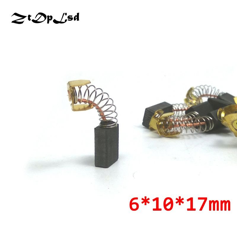 Carbon Brushes Mini Drill Motors Spare Parts Electric Grinder Replacement