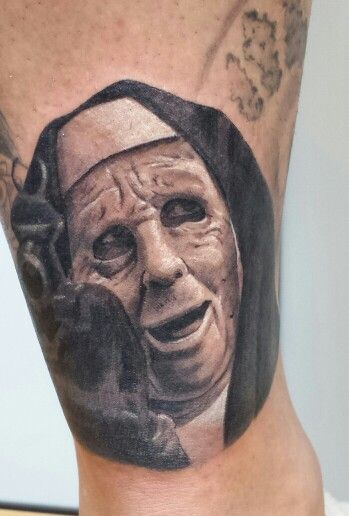 The Town Movie Tattoos Gangster Black And Grey Realism Tatuagem De Palhaco Tatuagem Coringa