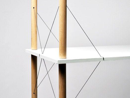 Wired Shelf by Siyuan Zhang