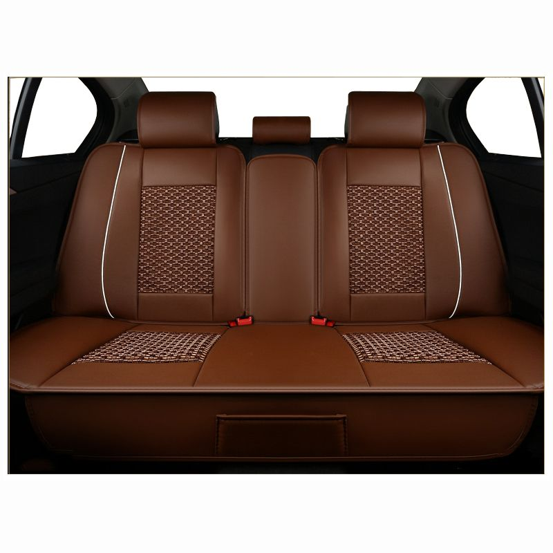 Rear Universal PU Leather Car Seat Cover For Chrysler 300C