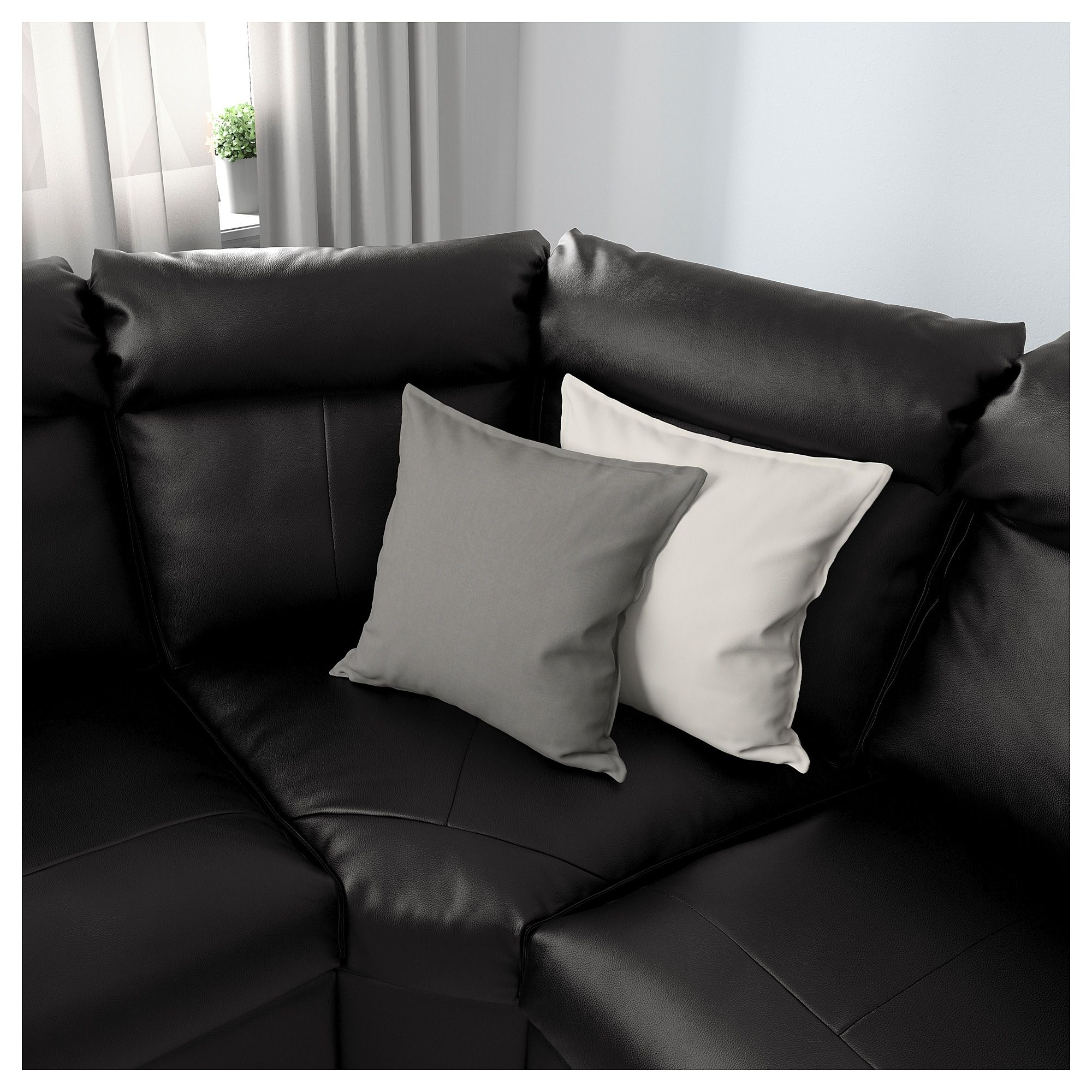- IKEA - LIDHULT Corner Sleeper Sofa, 6-seat Sofa Back Cushions