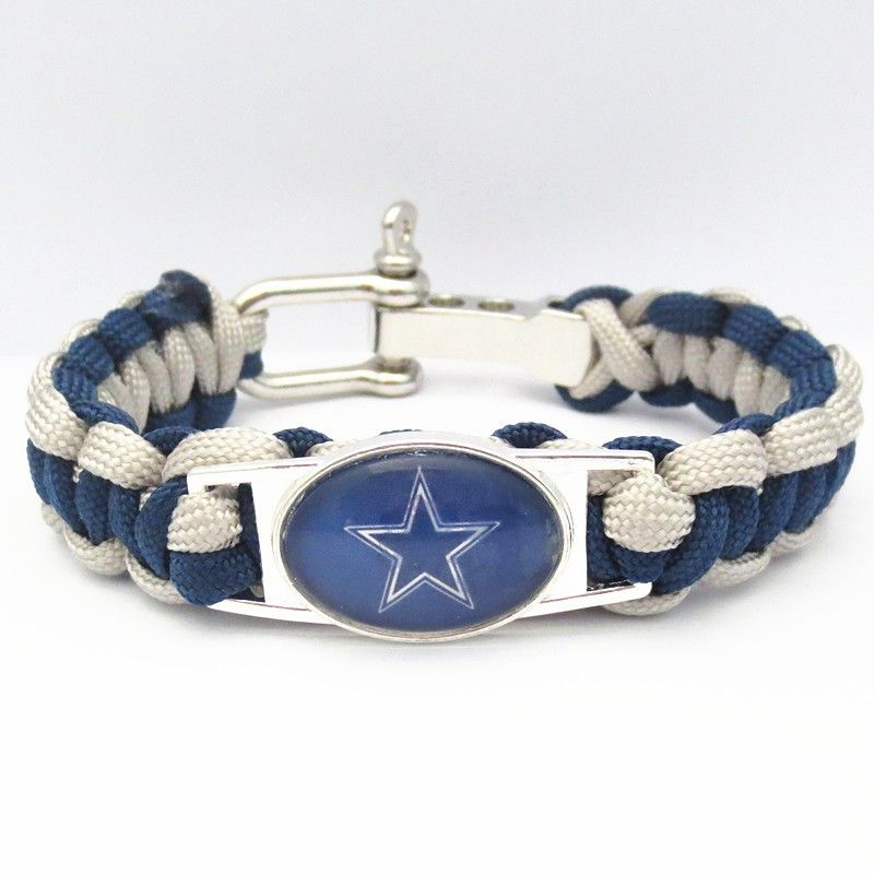 Dallas Paracord Football Sports Bracelet - FREE + Shipping Event! – DilyDalee