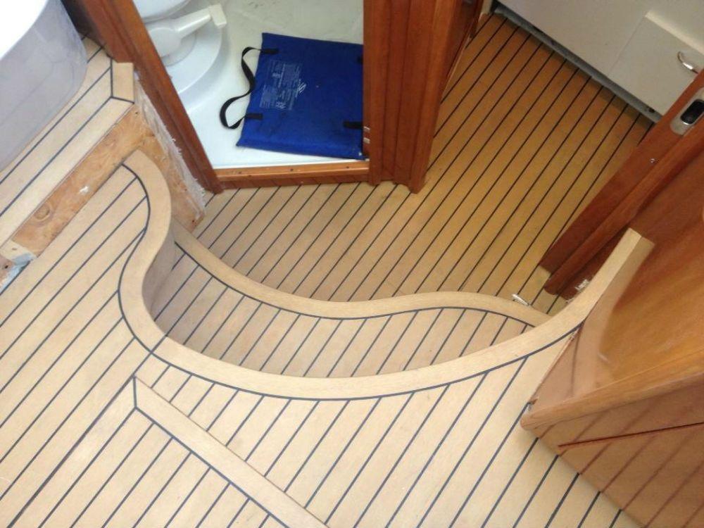 composite boat floor replacement material , Interior Boat ...