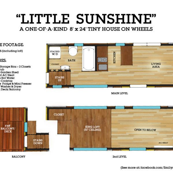 Tiny House Listings Tiny Houses For Sale And Rent Tiny House Floor Plans House Floor Plans House On Wheels