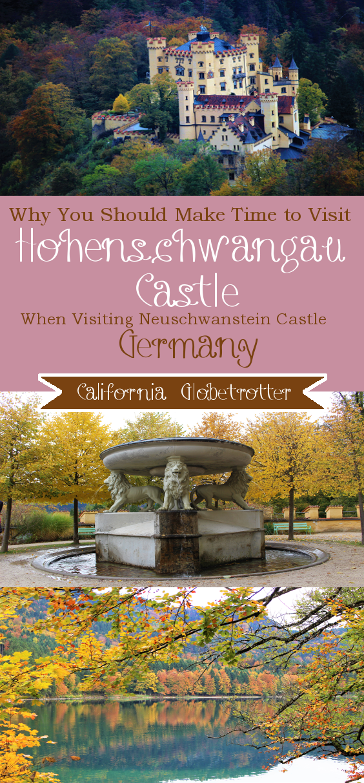 Schloss Hohenschwangau Schloss Neuschwanstein Urlaub Berge Neuschwanstein