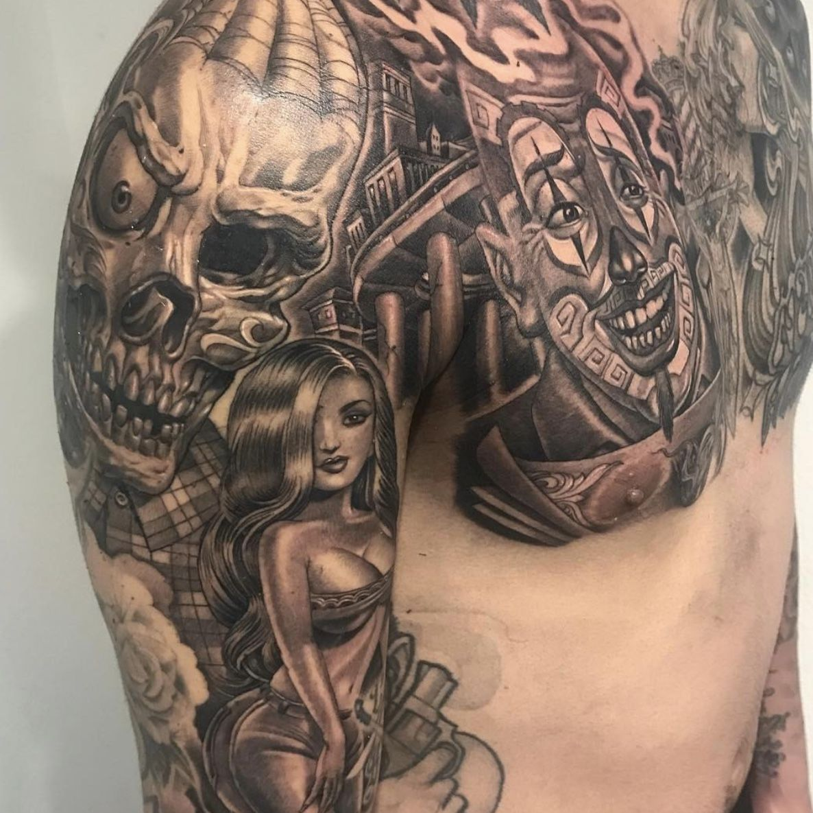 Different Styles Of Tattoos By Mister Cartoon On Tattoos Mr