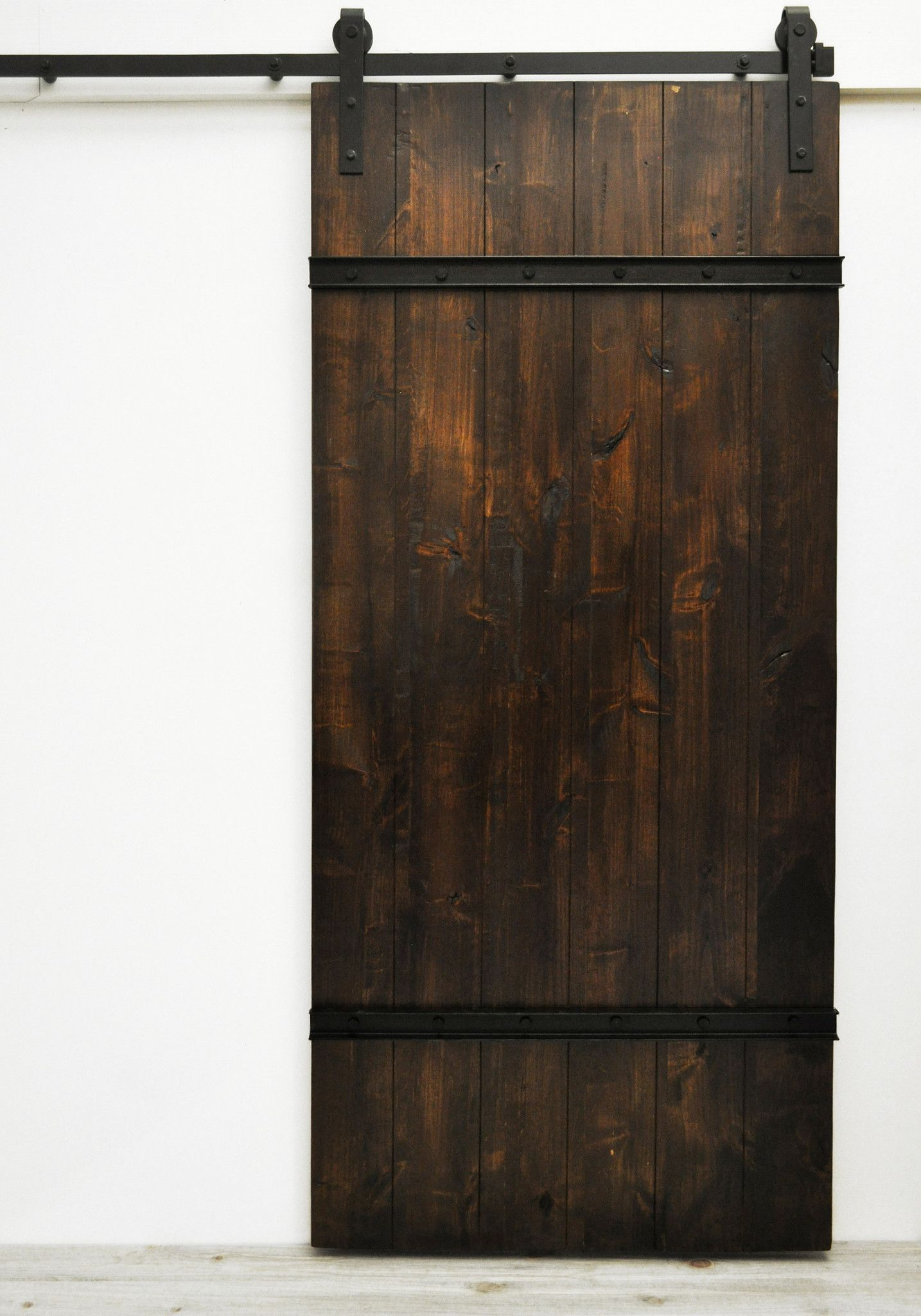 Sturdy Wood Planks Bolted Standard Door Sizes Are 82 Quot H X