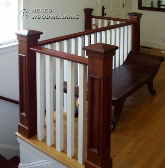 CRAFTSMAN HOME Interior Staircase